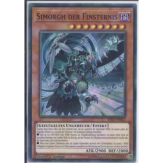 Yu-Gi-Oh! - RIRA-DE022 - Simorgh der Finsternis - 1.Auflage - DE - Super Rare