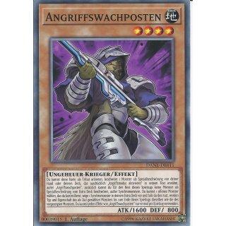 Yu-Gi-Oh! - DANE-DE011 - Angriffswachposten - Deutsch - 1.Auflage - Common