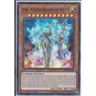Yu-Gi-Oh! - RIRA-DE027 - Avida, Wiederaufbauerin der Welten - 1.Auflage - DE - Super Rare