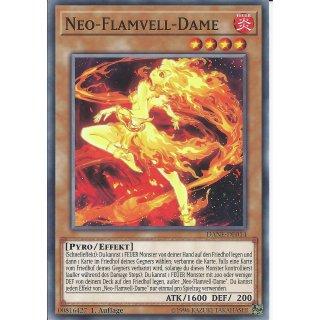 Yu-Gi-Oh! - DANE-DE014 - Neo-Flamvell-Dame - Deutsch - 1.Auflage - Common