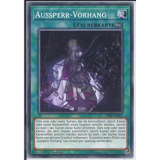 Yu-Gi-Oh! - RIRA-DE065 - Aussperr-Vorhang - 1.Auflage - DE - Common