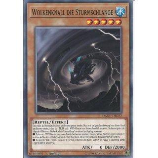 Yu-Gi-Oh! - DANE-DE022 - Wolkenknall Die Sturmschlange - Deutsch - 1.Auflage - Common