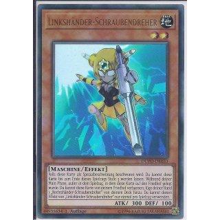 Yu-Gi-Oh! - DUPO-DE033 - Linkshänder ? Schraubendreher - DE - 1.Auflage - Ultra Rare