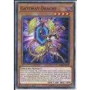 Yu-Gi-Oh! - SDRR-DE013 - Gateway-Drache - 1.Auflage - DE...