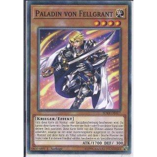 Yu-Gi-Oh! - SDRR-DE017 - Paladin von Fellgrant - 1.Auflage - DE - Common