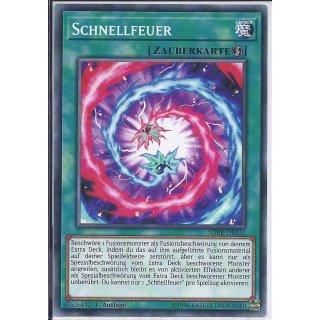 Yu-Gi-Oh! - SDRR-DE023 - Schnellfeuer - 1.Auflage - DE - Common