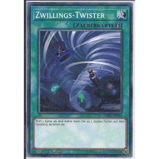 Yu-Gi-Oh! - SDRR-DE032 - Zwillings-Twister - 1.Auflage - DE - Common