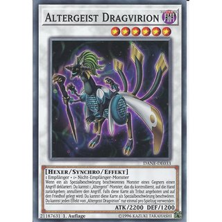Yu-Gi-Oh! - DANE-DE033 - Altergeist Dragvirion - Deutsch - 1.Auflage - Common