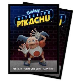 65x Pokemon Detective Pikachu Card Sleeves / Karten Hüllen Mr. Mime Neu/OVP