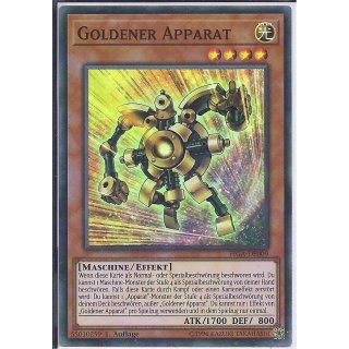 Yu-Gi-Oh! - FIGA-DE009 - Goldener Apparat - 1.Auflage - DE - Super Rare