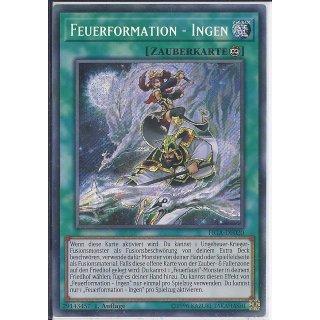 Yu-Gi-Oh! - FIGA-DE020 - Feuerformation - Ingen - 1.Auflage - DE - Secret Rare