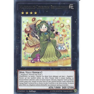 Yu-Gi-Oh! - DANE-DE039 - Magidolce-Lehrerin Brillouffle - Deutsch - 1.Auflage - Rare
