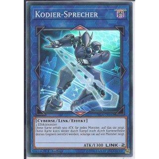 Yu-Gi-Oh! - FIGA-DE043 - Kodier Sprecher - 1.Auflage - DE - Super Rare