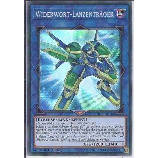 Yu-Gi-Oh! - FIGA-DE046 - Widerwort Lanzenträger - 1.Auflage - DE - Super Rare