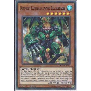 Yu-Gi-Oh! - FIGA-DE054 - Dinomight Kämpfer Der Wahre Drachokrieger - 1.Auflage - DE - Super Rare