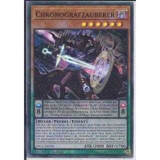 Yu-Gi-Oh! - FIGA-DE058 - Chronografzauberer - 1.Auflage - DE - Super Rare