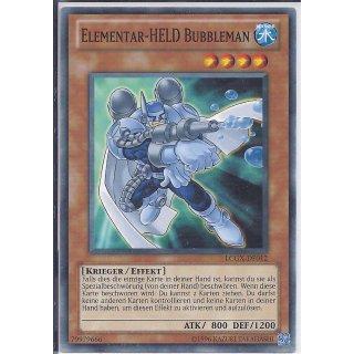 Yu-Gi-Oh! - LCGX-DE012 - Elementar-Held Bubbleman - Unlimitiert - DE - Common