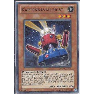 Yu-Gi-Oh! - LCGX-DE020 - Kartenkavallerist - Unlimitiert - DE - Common