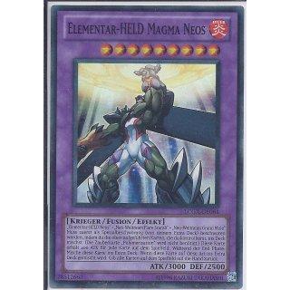 Yu-Gi-Oh! - LCGX-DE064 - Elementar-HELD Magma Neos - Unlimitiert - DE - Super Rare