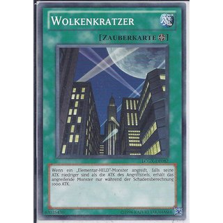 Yu-Gi-Oh! - LCGX-DE082 - Wolkenkratzer - Unlimitiert - DE - Common
