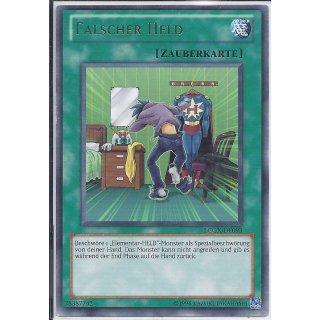 Yu-Gi-Oh! - LCGX-DE093 - Falscher Held - Unlimitiert - DE - Rare