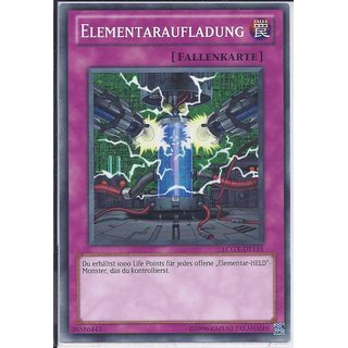 Yu-Gi-Oh! - LCGX-DE115 - Elementaraufladung - Unlimitiert - DE - Common