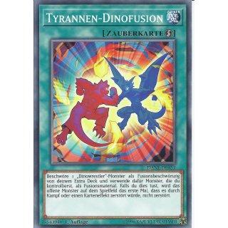 Yu-Gi-Oh! - DANE-DE053 - Tyrannen-Dinofusion - Deutsch - 1.Auflage - Common