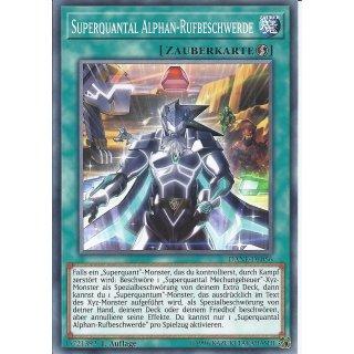 Yu-Gi-Oh! - DANE-DE056 - Superquantal Alphan-Rufbeschwerde - Deutsch - 1.Auflage - Common
