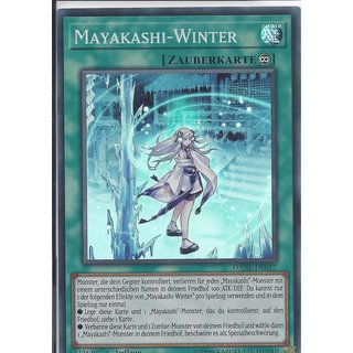 Yu-Gi-Oh! - DANE-DE057 - Mayakashi-Winter - Deutsch - 1.Auflage - Super Rare