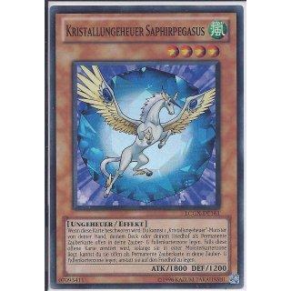 Yu-Gi-Oh! - LCGX-DE161 - Kristallungeheuer Saphirpegasus - Unlimitiert - DE - Super Rare