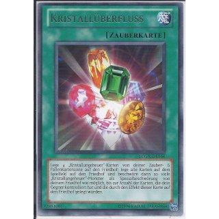 Yu-Gi-Oh! - LCGX-DE166 - Kristallüberfluss - Unlimitiert - DE - Rare