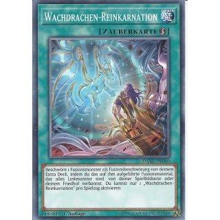 Yu-Gi-Oh! - DANE-DE060 - Wachdrachen-Reinkarnation - Deutsch - 1.Auflage - Common