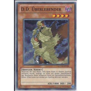 Yu-Gi-Oh! - LCGX-DE224 - D.D. Überlebender - Unlimitiert - DE - Common