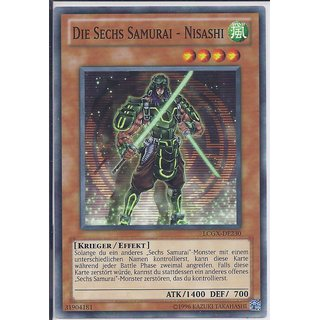 Yu-Gi-Oh! - LCGX-DE230 - Die Sechs Samurai - Nisashi - Unlimitiert - DE - Common