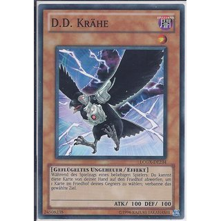 Yu-Gi-Oh! - LCGX-DE234 - D.D. Krähe - Unlimitiert - DE - Super Rare