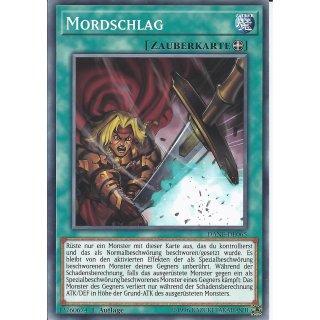 Yu-Gi-Oh! - DANE-DE065 - Mordschlag - Deutsch - 1.Auflage - Common