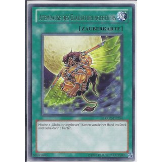 Yu-Gi-Oh! - LCGX-DE254 - Atempause des Gladiatorungeheuers - Unlimitiert - DE - Rare
