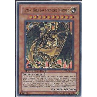 Yu-Gi-Oh! - LC02-DE002 - Hamon, Herr des tosenden Donners - Limitierte Auflage - DE - Ultra Rare