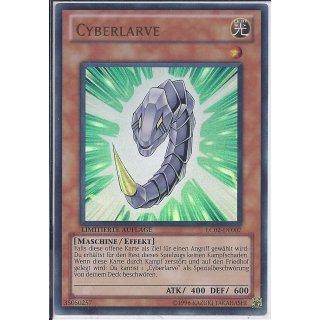 Yu-Gi-Oh! - LC02-DE007 - Cyberlarve - Limitierte Auflage - DE - Ultra Rare