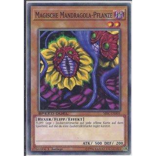 Yu-Gi-Oh! - SBSC-DE001 - Magische Mandragola-Pflanze - 1.Auflage - DE - Common