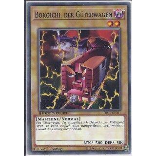 Yu-Gi-Oh! - SBSC-DE031 - Bokoichi, der Güterwagen - 1.Auflage - DE - Common
