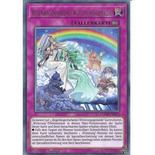 Yu-Gi-Oh! - DANE-DE073 - Regenbogenfarbenes Witterungsgemälde - Deutsch - 1.Auflage - Rare