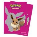 65x Pokemon Evoli / Eevee 2019 Card Sleeves Ultra Pro /...
