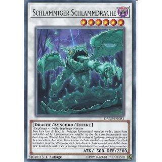 Yu-Gi-Oh! - DANE-DE081 - Schlammiger Schlammdrache - Deutsch - 1.Auflage - Rare