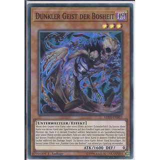 Yu-Gi-Oh! - LED5-DE003 - Dunkler Geist der Bosheit - 1.Auflage - DE - Super Rare