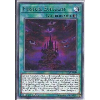 Yu-Gi-Oh! - LED5-DE009 - Finstere Zuflucht - 1.Auflage - DE - Rare
