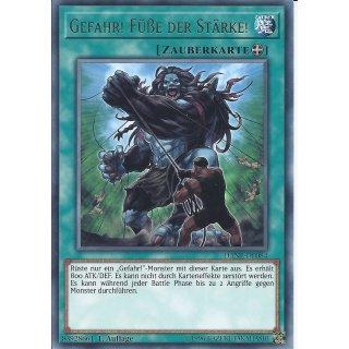 Yu-Gi-Oh! - DANE-DE084 - Gefahr! Füße Der Stärke! - Deutsch - 1.Auflage - Rare