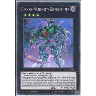 Yu-Gi-Oh! - LED5-DE034 - Gimmick-Marionette Gigantopuppe - 1.Auflage - DE - Super Rare