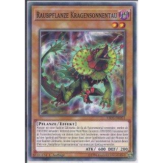 Yu-Gi-Oh! - LED5-DE051 - Raubpflanze Kragensonnentau - 1.Auflage - DE - Common
