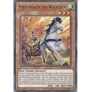 Yu-Gi-Oh! - DANE-DE088 - Streitwagen Der Walküren - Deutsch - 1.Auflage - Common